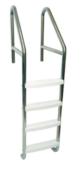 "S.R. Smith 23"" Standard Crossbrace Plus 4 Step Ladder .065"" Wall - 10079"