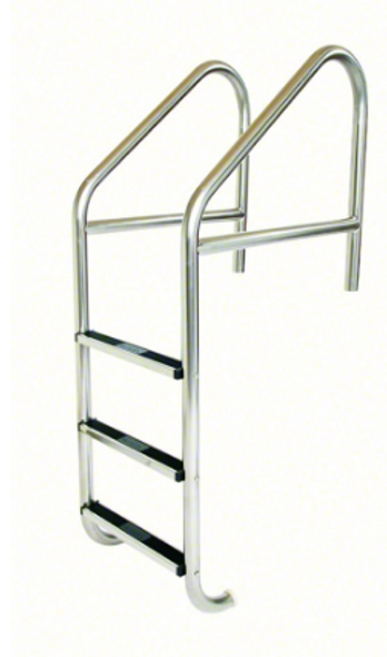 "S.R. Smith 23"" Standard Crossbrace Plus SS 3 Step Ladder .109"" Wall - SR10113"