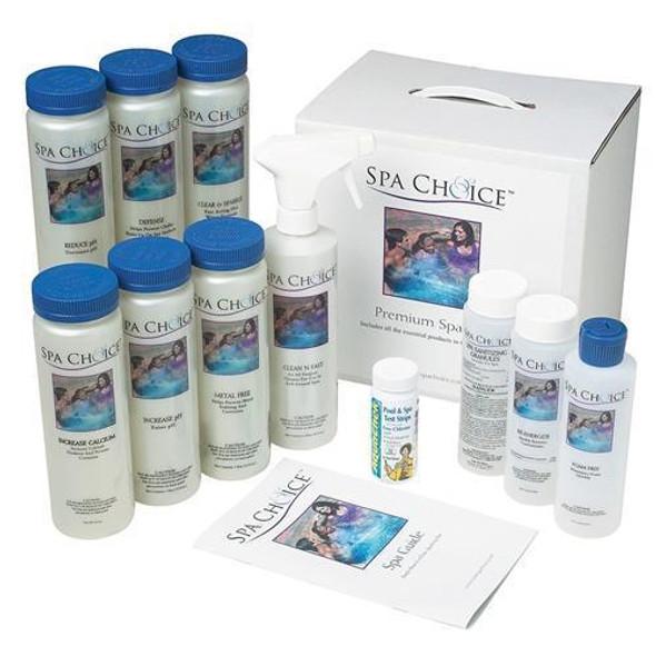 Spa Choice Standard Chlorine Spa Start Up Kit - NP2021