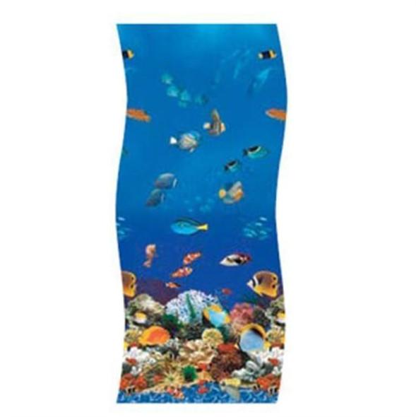 Swimline S-G Ocean Reef Overlap Vinyl Liner - 33' Round