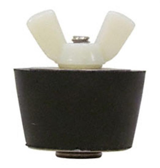 "Technical Products No. 6 Winter Plug 1"" Fitting with Nylon Wingnut"