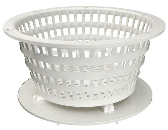 Waterway Dyna-Flo White Low Profile Basket Assembly