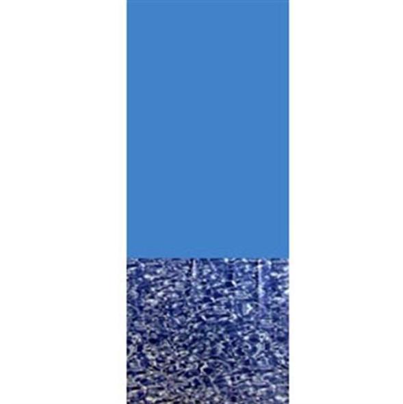 Above-Ground Pool 20 GA. Blue Wall-Swirl Bottom Expandable Vinyl Liner- 24' Round