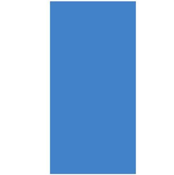 Above-Ground Pool 20 GA. Blue Overlap Vinyl Liner- 18' X 33' OVAL