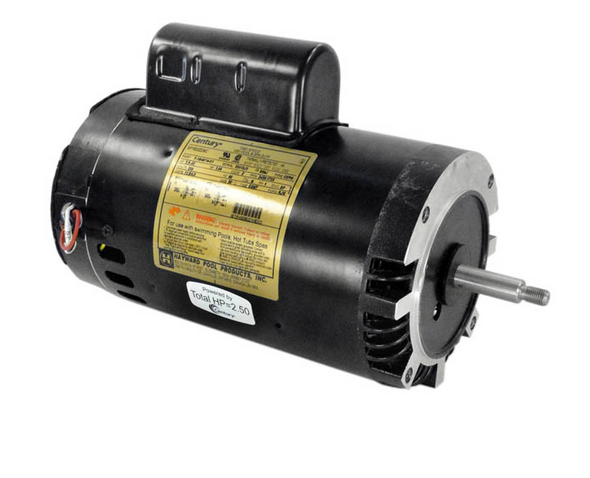 Hayward 2.5 HP 2 Speed 230V Pool Pump Motor Square Flange - SPX1620Z2M