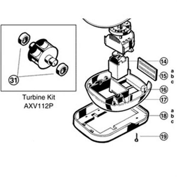 Hayward Navigator Bumper - White - AXV605WHP