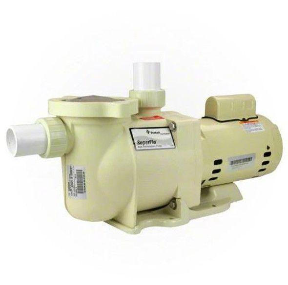 Pentair SuperFlo 2.5 HP Single Speed Standard Efficiency Full Rated High Performance Pool Pump - 340041