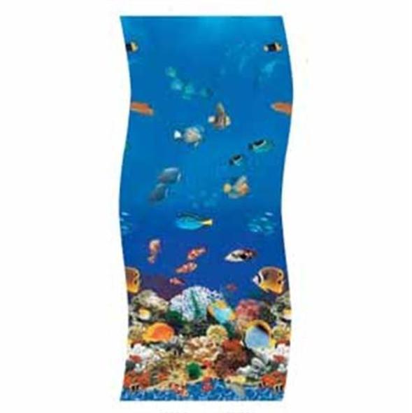 "Swimline S-G Ocean Reef 52"" Unibead Vinyl Liner - 28' Round"