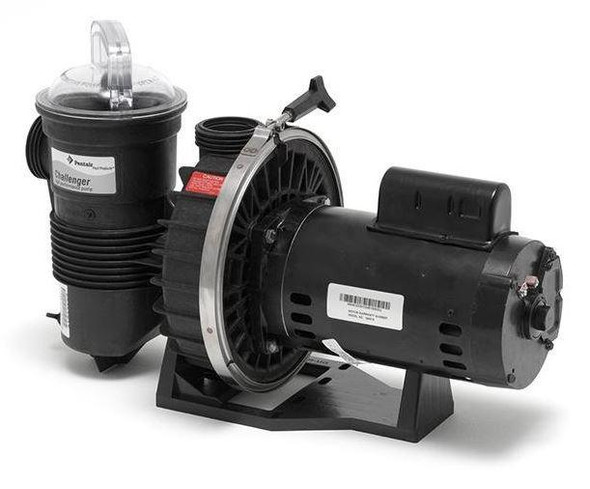 Pentair Challenger 0.75 HP 115/230V Up Rated Single Speed Pool Pump - 346203
