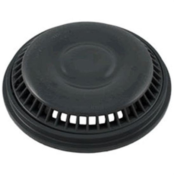 "Waterway Mini Drain Cover And Frame 8"" Anti-Vortex - Dark Gray"