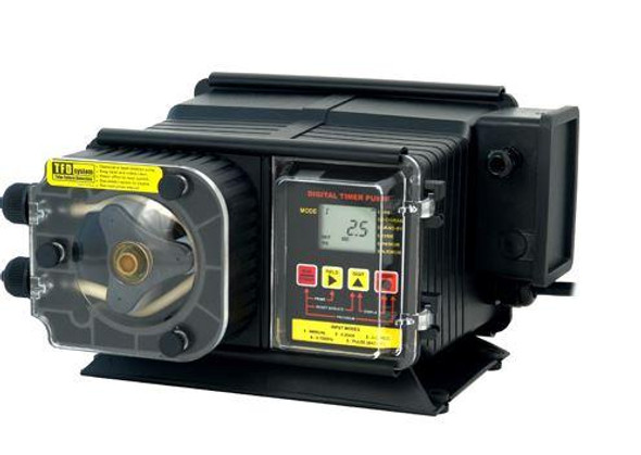 "Blue White FlexFlo A100N Metering Feeder Pump 115V - 3-8"" OD 24 GPD Compression Nuts"