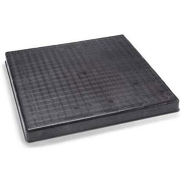 "Diversitech 24"" x 36"" x 2"" Filter Base Black Pad Molded Plastic"