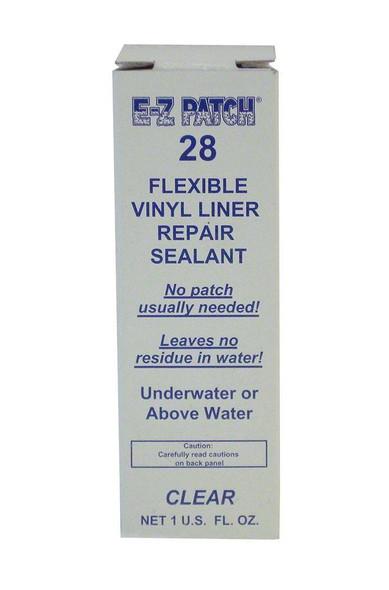 EZ-Patch 28 Clear Vinyl Liner Underwater Repair Sealant