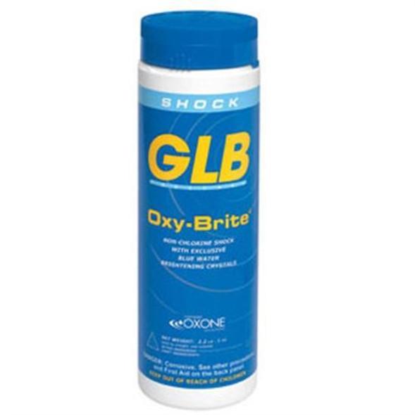 GLB Oxybrite Non Chlorine Shock 2.2 lb Bottle - 1 Bottle