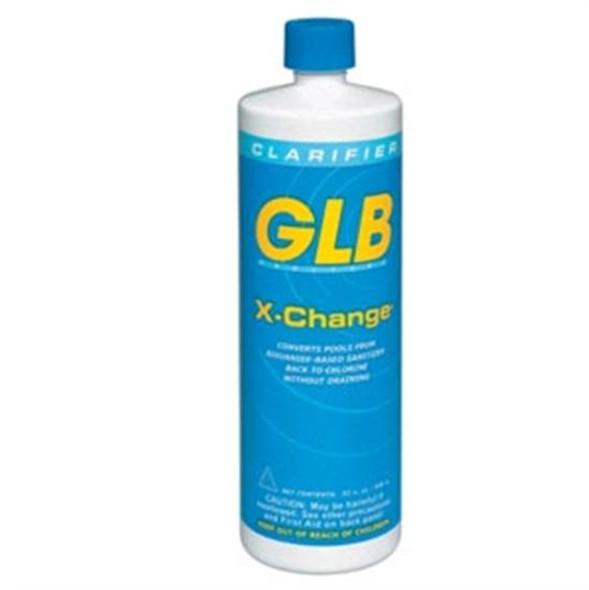 GLB X-Change Convert Baquacil to Chlorine 1 Quart - 12 Bottles