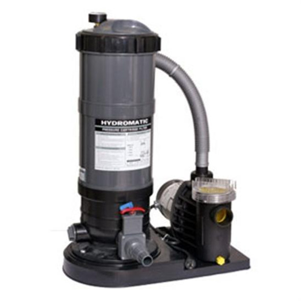120 Sq. Ft. Above-Ground Cartridge Filter with 1-1/2 HP Pump
