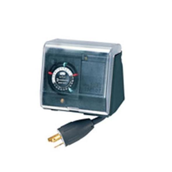 Intermatic P1131 Portable Heavy Duty Outdoor Timer 20amp-Twist Lock