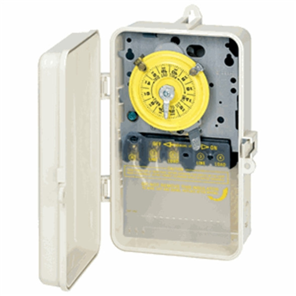 Intermatic T101P3 Pool Timer Indoor-Outdoor 110V -Plastic enclosure