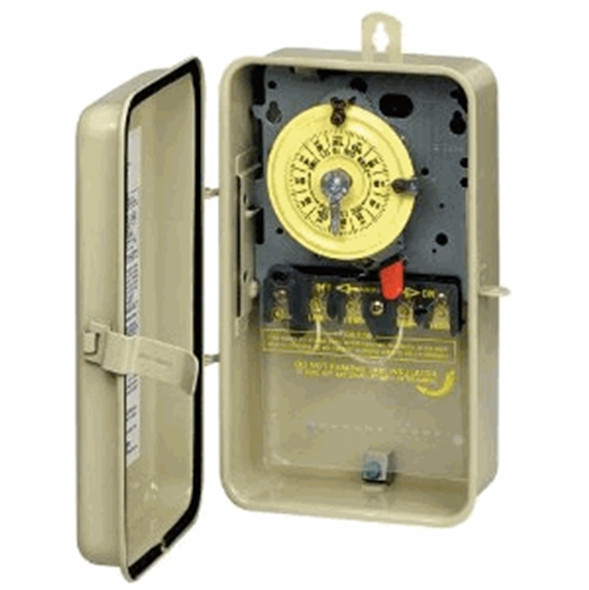Intermatic T104R3 Timer Switch 220V - Metal Enclosure