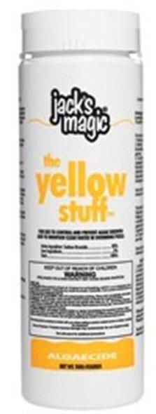 Jacks Magic The Yellow Stuff All-Purpose Algaecide - 2 lbs