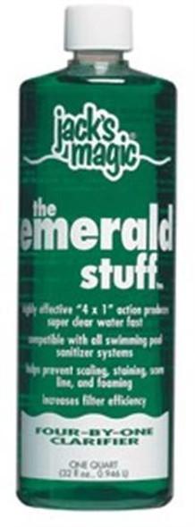 Jacks Magic The Emerald Stuff Water Clarifier - 32 oz