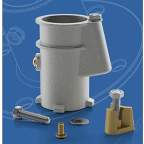 "Permacast 4"" Aluminum Anchor Socket - 1.9 Inch"