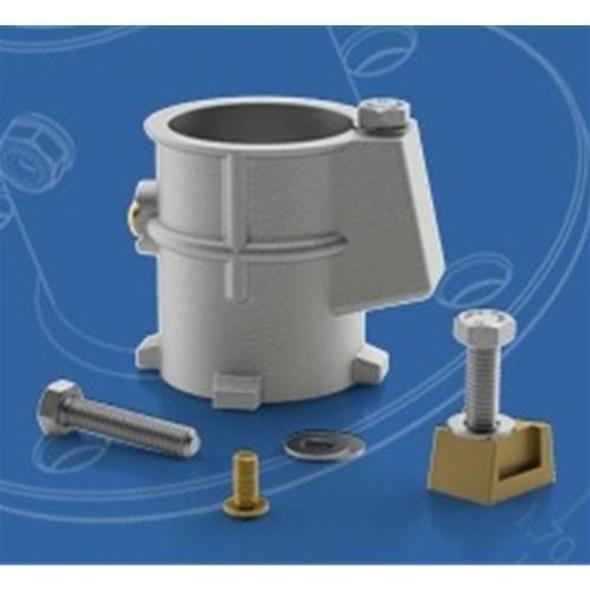 "Permacast 3"" Aluminum Anchor Socket - 1.9 Inch"