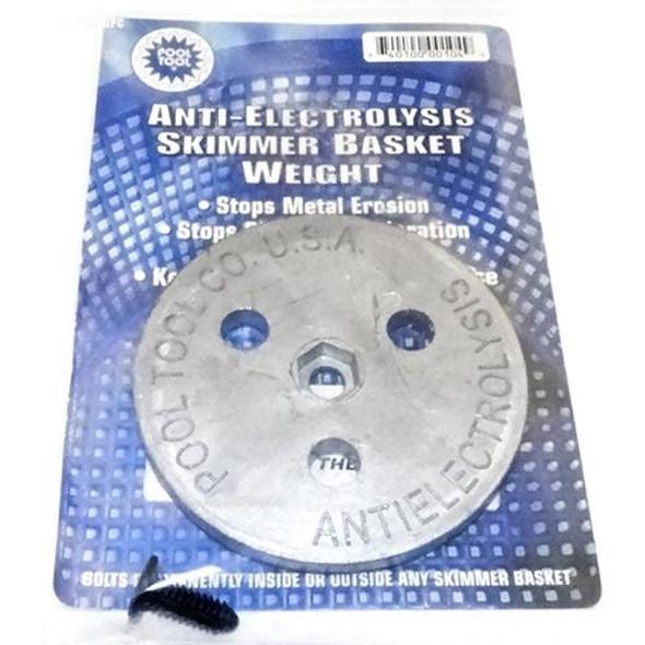 Pool Tool Anti-Electrolysis Zinc Basket Weight