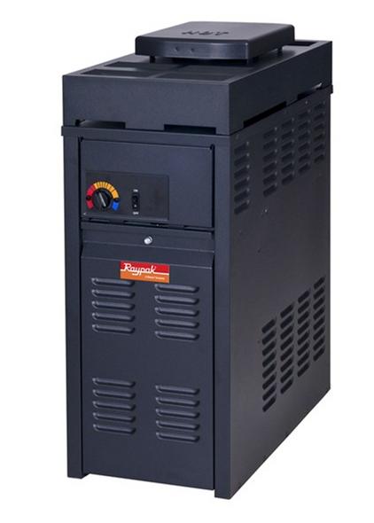 Raypak 130K BTU Versa 130 Electronic Residential Natural Heater - PR130AENCSL