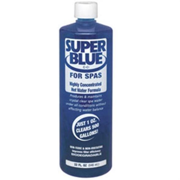 Robarb Super Blue Water Clarifier for Pools 1 Quart - 1 Bottle