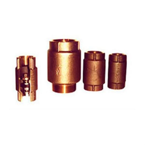 "Simmons 1.25"" FPT Silicon Bronze Cast Body Check Valve"