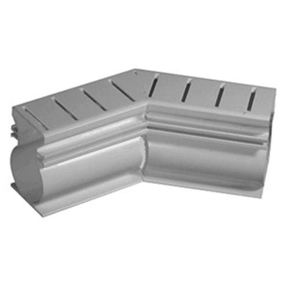 Stegmeier Frontier 45 Degree Deck Drain Gray