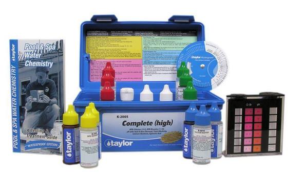 Taylor Professional DPD Chlorine + Bromine Test Kit