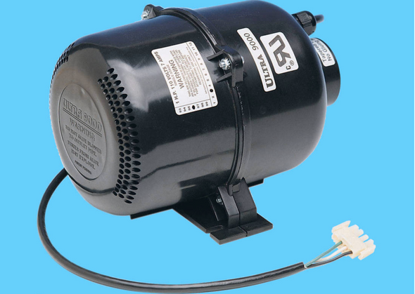 Ultra 9000 Portable Spa Blower 1 HP - 220V / 240V