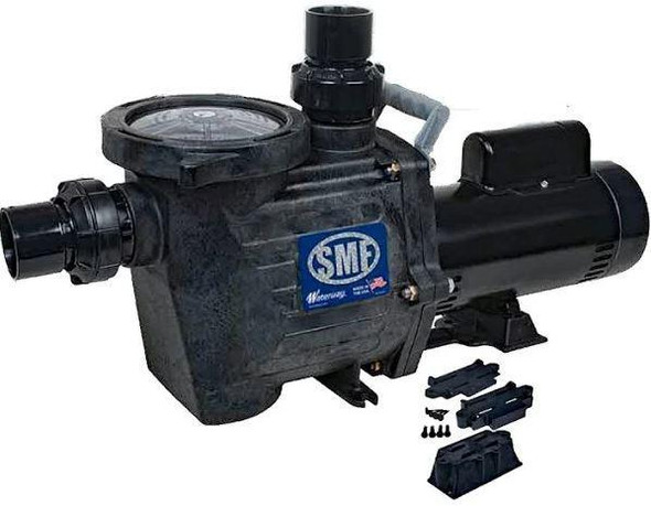 Waterway SMF 1.5HP 115/208-230V Inground Pool Pump - SMF-115