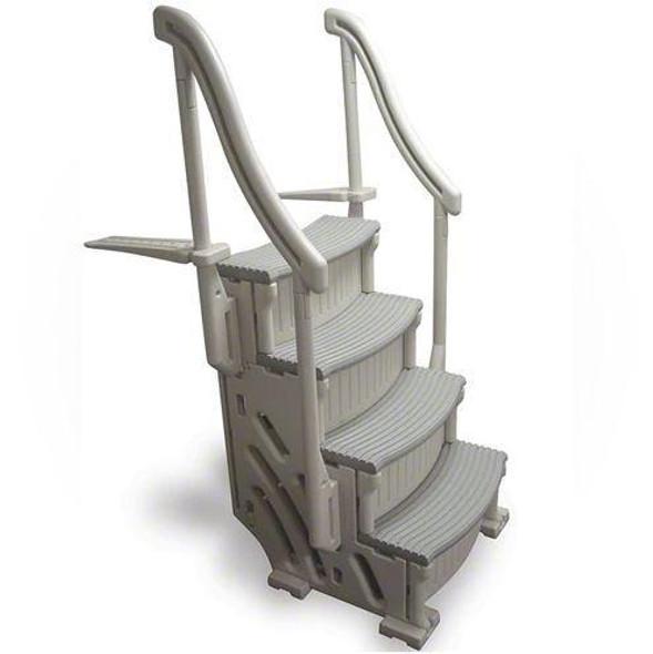 Confer Plastics 4-Step AG Confer Curve Stairs - CCX-AG