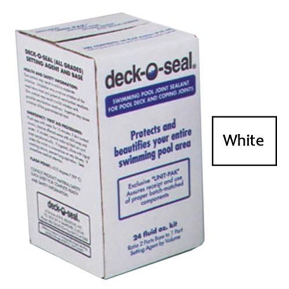 Deck-O-Seal 24 Oz Kit Sealant for Horizontal Joints Pour Grade - White