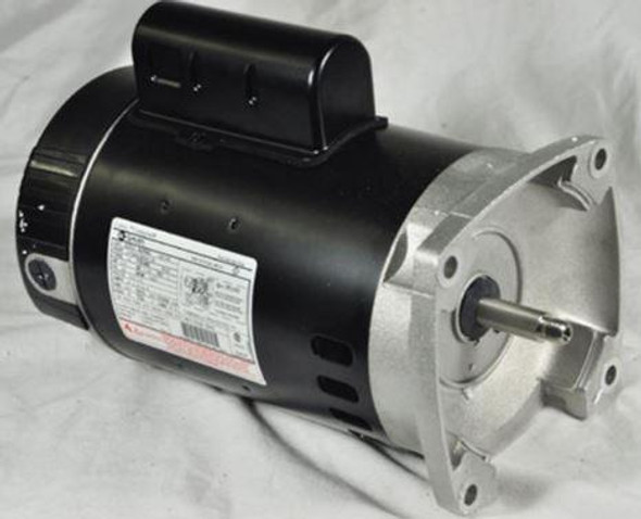 GE 1 HP Pool Motor with Square Flange Up-Rated - C1245