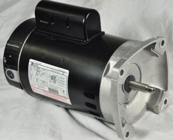 GE 1 1/2 HP Pool Motor with Square Flange Up-Rated - C1246