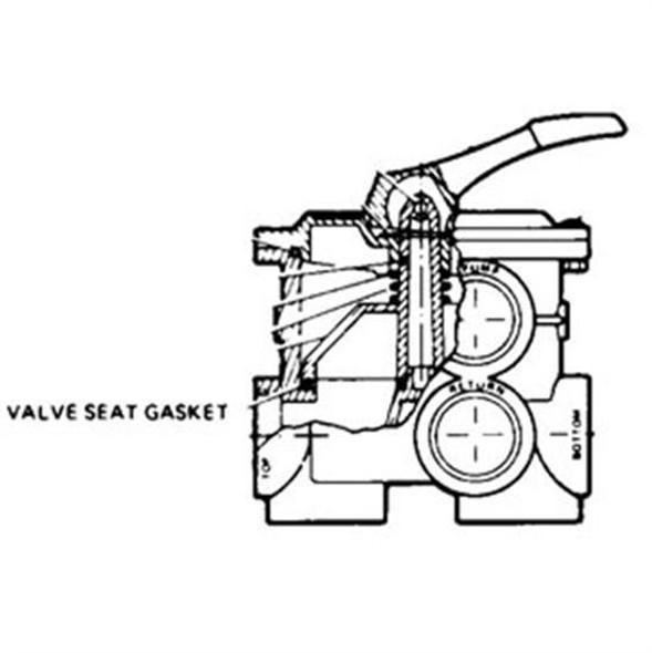 "Hayward 2"" Vari-Flo Valve Seat Gasket"