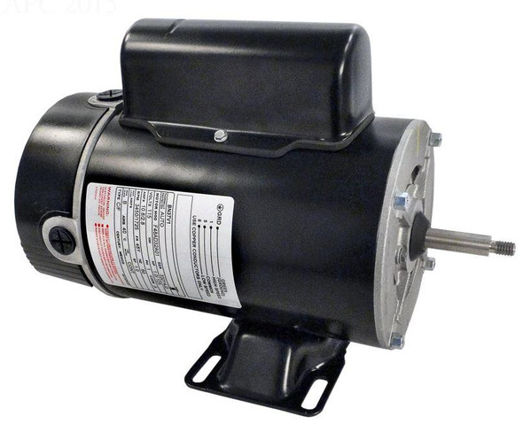 AO Smith 1 HP Replacement 2 Speed Spa Motor 115V Thru Bolt - BN37V1