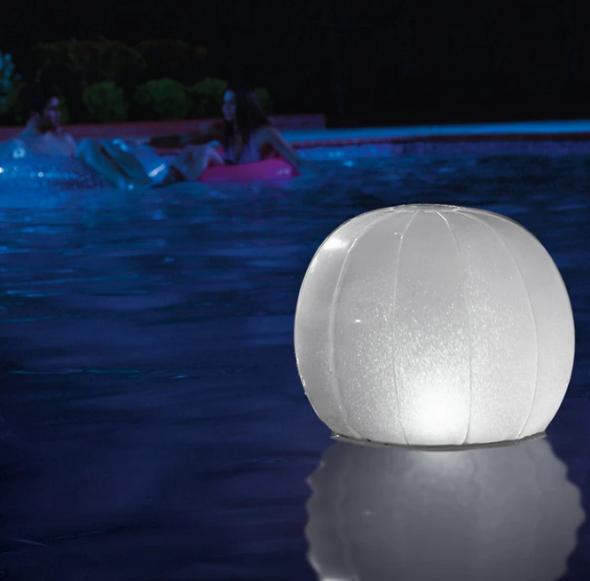 Intex Floating Multi-color LED Ball - 28693E