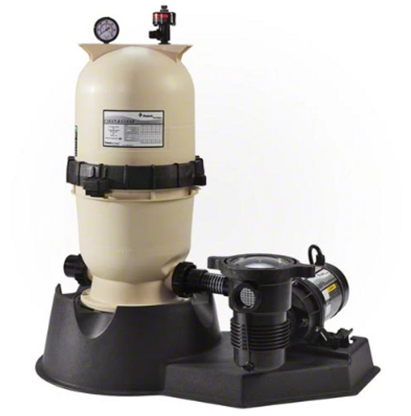 Pentair 1.5 HP Pump with Clean and Clear 150 Filter System - PNCC0150OF1160