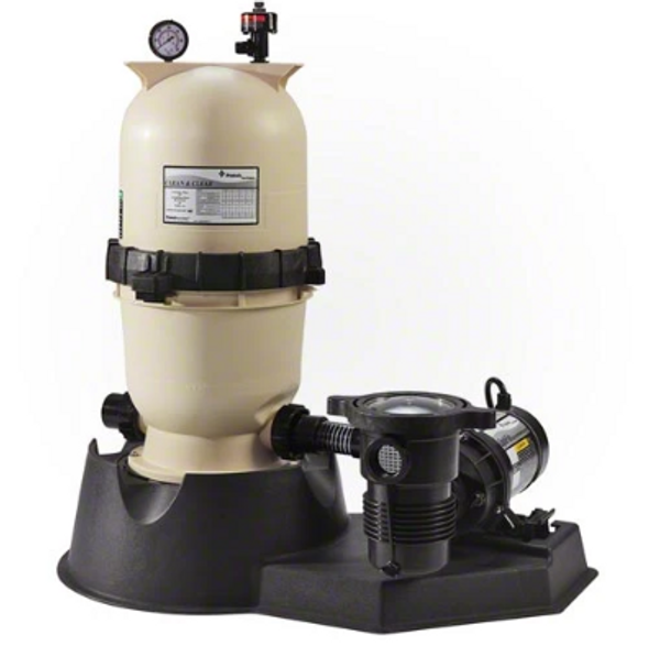 Pentair 1.5 HP 2 Speed Pump with Clean and Clear 100 Filter System - PNCC0100OO2160