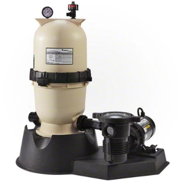 Pentair 1.5 HP 2 Speed Pump with Clean and Clear 150 Filter System - PNCC0150OF2160