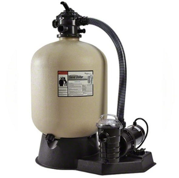Pentair 1 HP Pump and 19 Inches Sand Dollar Filter System - PNSD0040DE1160
