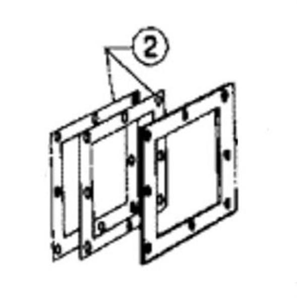 Pentair Face Plate Gasket - APCG62 APCG11