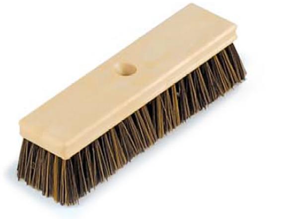 """Pentair Rainbow 10"""" Wood Brush Brown - R111590"""