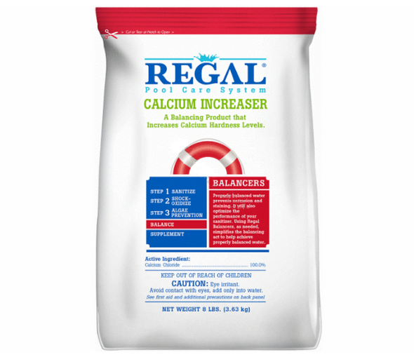 Regal 8 lbs Calcium Level Increaser Pouch 4 Per Case - PCC8-RG