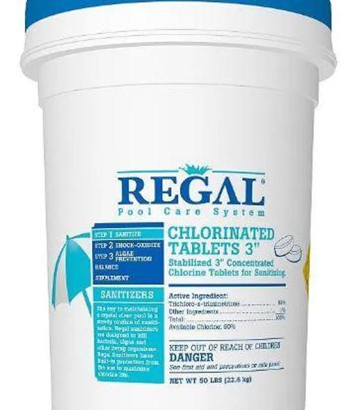 "Regal 8# 3"" Chlorinated Tabs(UW) - 12001571"